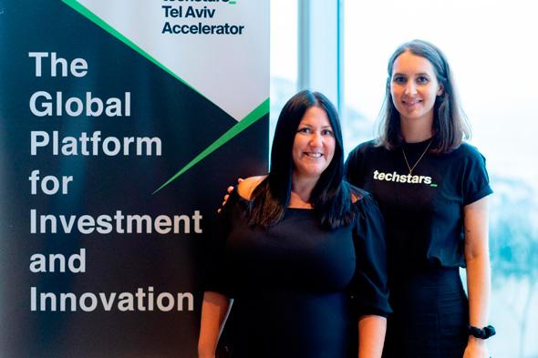 Techstarts Managing Director Hilla Ovil-Brenner (left) and Franka Godina. Photo: Credit: Hanna Taieb
