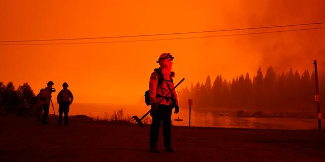 השריפות בקליפורניה: כך זה נראה בתמונות