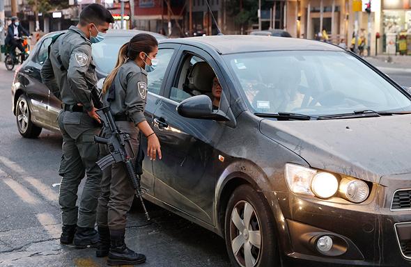 שוטרים בבני ברק, צילום: איי אף פי
