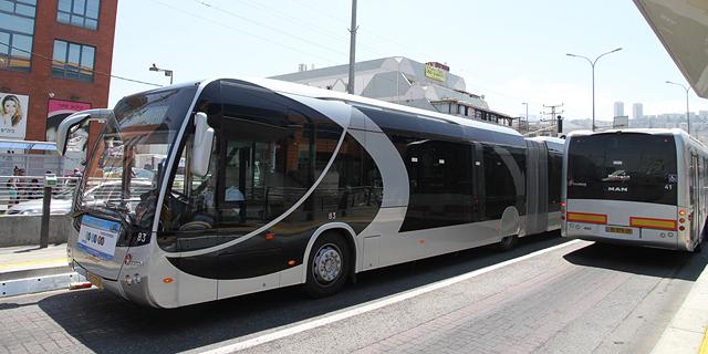 שבע שנים אחרי ההפעלה: משרד התחבורה מוציא את הפעלת המטרונית בחיפה למכרז