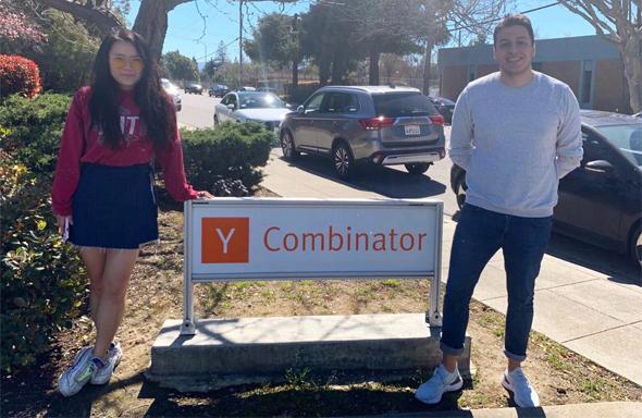 Deel co-founders Alex Bouazis and Shuo Wang. Photo: PR