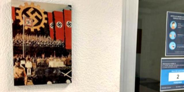 מבוכה לפולקסווגן: תמונה של היטלר בסוכנות במקסיקו