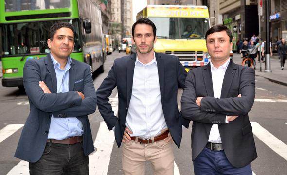 Siemplify founders Alon Cohen, Amos Stern, and Garry Fatakhov. Photo: Siemplify