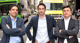 Simplify Co-founders Siemplify was founded in 2015 by Alon Cohen, Amos Stern, Garry Fatakhov. Photo: