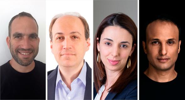 Jonathan Adiri (from right), Esti Shelly, Yaron Daniely and Uri Bielski. Photo: Courtesy