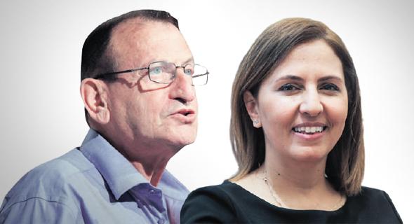 השרה גילה גמליאל וראש עיריית תל אביב רון חולדאי. דורש ממנה להרחיב את חוק הפיקדון