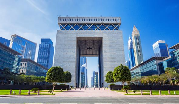 Dubai international Financial Center. Photo: Shutterstock