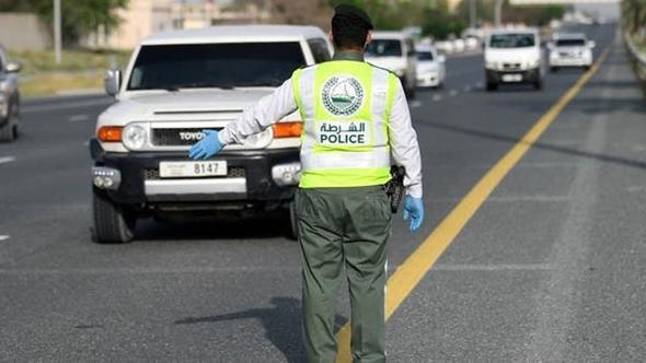 משטרה בדובאי, צילום: איי אף פי