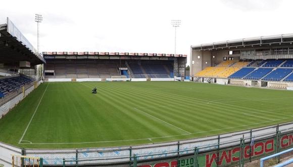האיצטדיון של קבוצת בוורן. אחד המועדונים בבלגיה שהיו מעורבים בפרשה של הלבנת הון והטיית משחקים