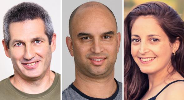 משתתפי כנס האי קומרס של גוגל וכלכליסט: שירן פרן, אריה תום, דני כהן