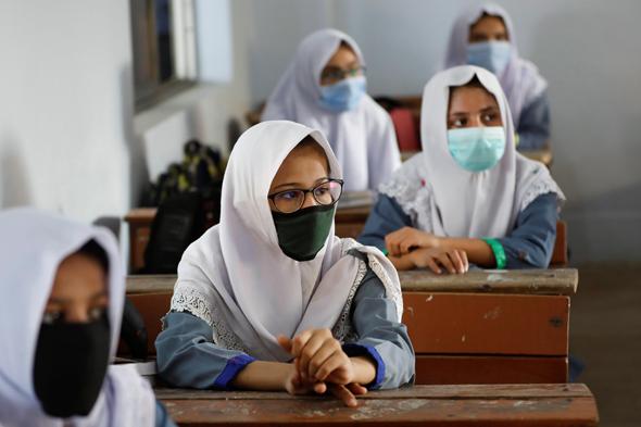 בית ספר בפקיסטן בקורונה