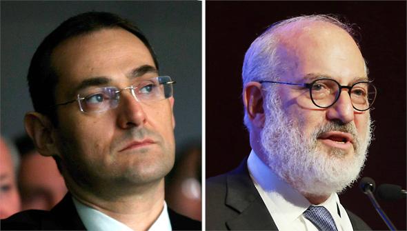 מימין: אדוארדו אלשטיין וגיל דויטש, מבעלי קרן ברוש — מהמחזיקות בסדרה ט