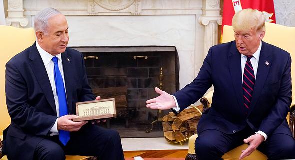 """הנשיא טראמפ ורה""""מ נתניהו"""