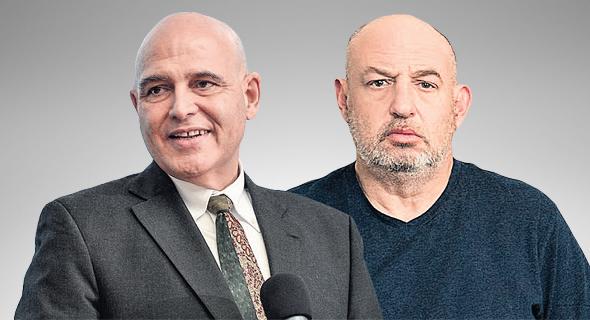 """הראל ויזל, מנכ""""ל פוקס (מימין) ודוד פתאל, יו""""ר מלונות פתאל. המלונאים ספגו את המכה הקשה ביותר"""