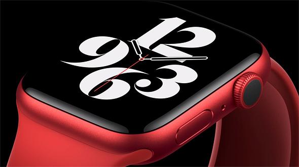 אפל ווטש 6 Apple Watch, צילום מסך: אפל