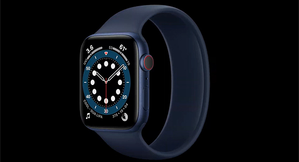 הרצועה החדשה של השעון של אפל, צילום מסך: אפל