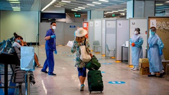 נמל התעופה ברומא , צילום: גטי