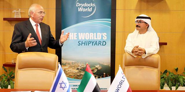 """מספנות ישראל חתמו על מזכר הבנות לשת""""פ עם DP WORLD מדובאי"""