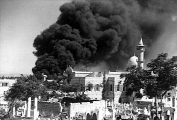 מבנים בחיפה שנפגעו בהפצצה