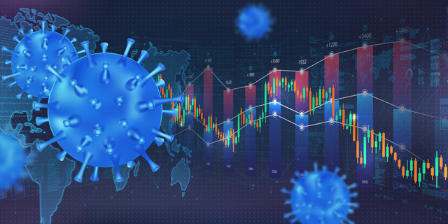 The impact of Covid-19 on the stock exchange and world economy. Photo: Shutterstock