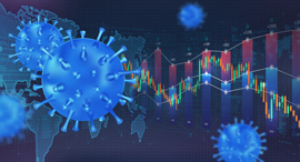 The impact of Covid 19 on the stock exchange and world economy, צילום: Shutterstock