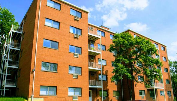 """מתחם הדיור לסטודנטים קליפטון קולוני בסינסינטי, אוהיו, ארה""""ב"""