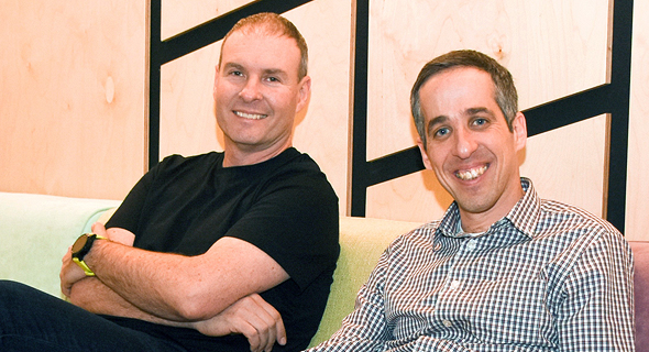 Hysolate co-founder Tal Zamir (right) and chairman Marc Gaffan. Photo: Hysolate