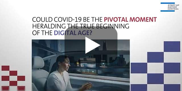 How Israel's tech ecosystem can help shape the post-COVID-19 era