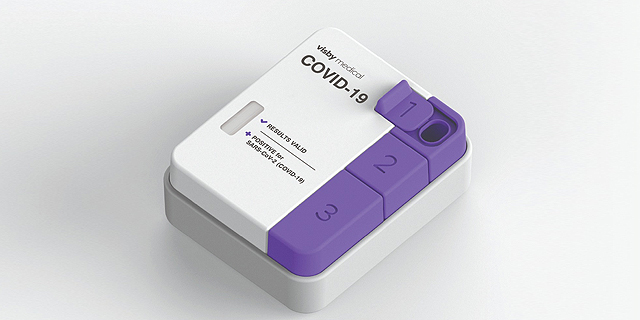 מכשיר לגילוי קורונה של Visby Medical ויזבי מדיקל