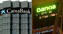 מיזוג קאישה בנק ובנקיה בנקים ספרד חדש, צילום: סקיי ניוז