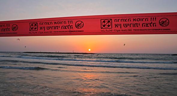 חוף הים בתל אביב, צילום: איי אף פי