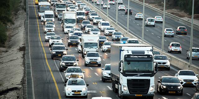 הפקקים שבדרך: שיא במכירת מכוניות ברבעון הראשון