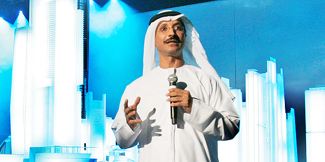 Sultan Ahmed bin Sulayem. Photo: AP