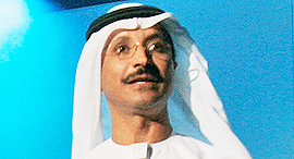 Sultan Ahmed bin Sulayem. Photo: AP