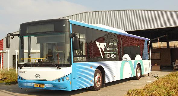 אוטובוס חשמלי דן, פרויקט אלקטריאון