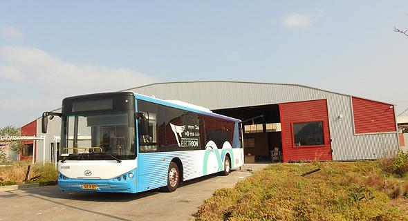 אוטובוס חשמלי של דן, פרויקט אלקטריאון