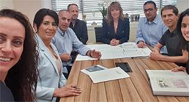 ישיבת הנהלה השתתפויות נכסים זירת הנדלן, צילום: רן אביטל
