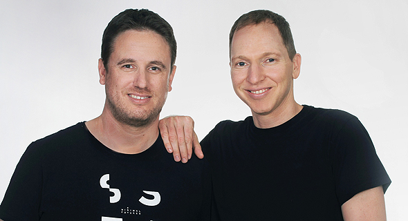 Touchless.AI creators Roy Baharv and Eyal Shapira. Photo: Osnat Kransnanski
