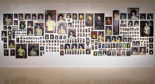 מהתערוכה של עידו מרקוס, צילום: אילן כרמי