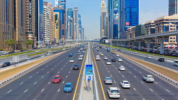 A highway in Dubai. Photo: Shutterstock