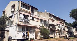 הבניינים ביהוד המיועדים לפינוי בינוי, צילום: אוראל כהן