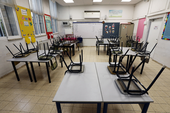 Classes are out of use amid second Covid-19 lockdown. Photo: Reuters