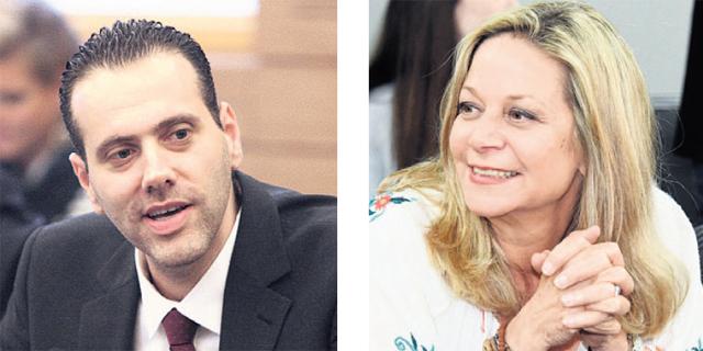 """מימין: יו""""ר ועדת הפנים מיקי חיימוביץ"""