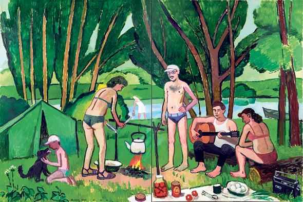 ציור של צ'רקסקי