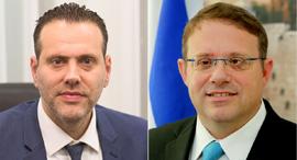 מימין יעקב חגואל  ו מיקי זוהר, צילומים: ששון תירם, אלכס קולומויסקי
