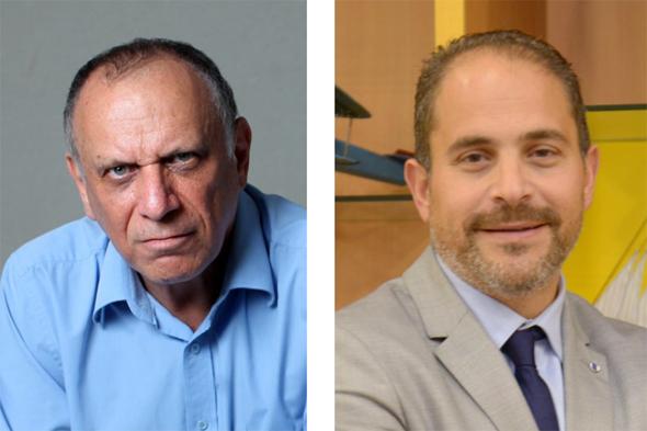 """מימין: מנכ""""ל מדטרוניק ירון יצהרי ודב מורן, צילומים: ליאת מנדל, עמית שעל"""