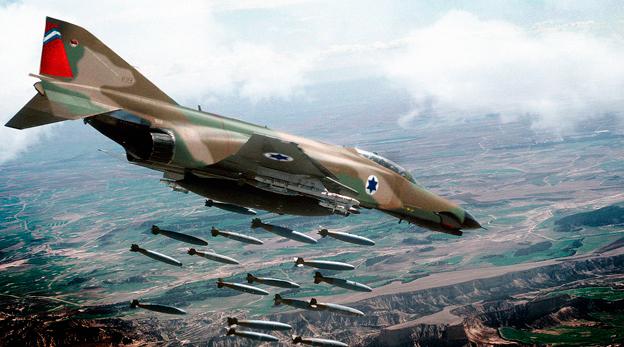 הקברניט חיל האוויר מלחמת יום כיפור פאנטום, מקור: USAF+F4society