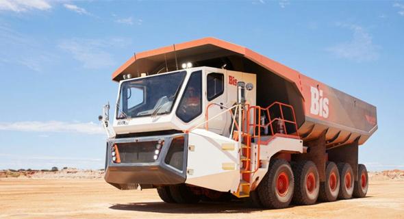 כלי מכרות אוטונומי של Bis האוסטרלית