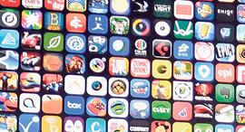 אפליקציות למכשיר אייפון סמארטפון, צילום: בלומברג