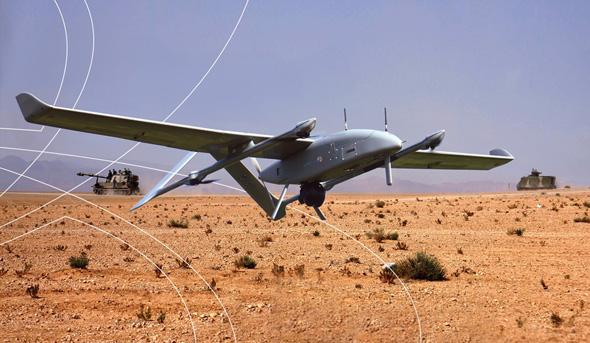 A BlueBird AUV on the training ground. Photo: IAI